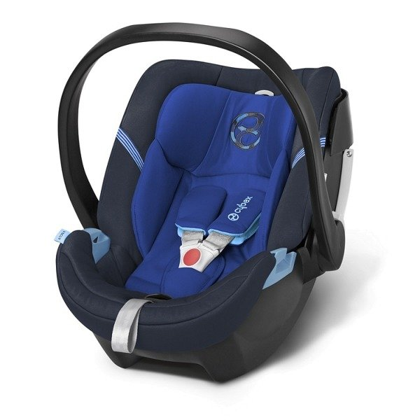 Cybex Aton 4 + ISOFIX Base 2-fix Royal Blue Bērnu autosēdeklis 0-13 kg