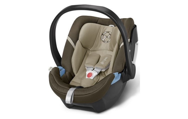 Cybex Aton 4 Olive Khaki Bērnu autosēdeklis 0-13 kg