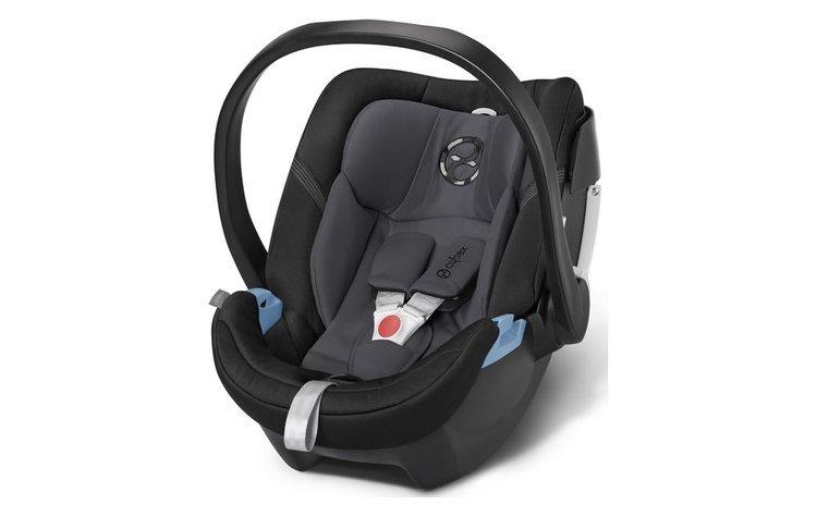 Cybex Aton 4 Phantom Grey Bērnu autosēdeklis 0-13 kg