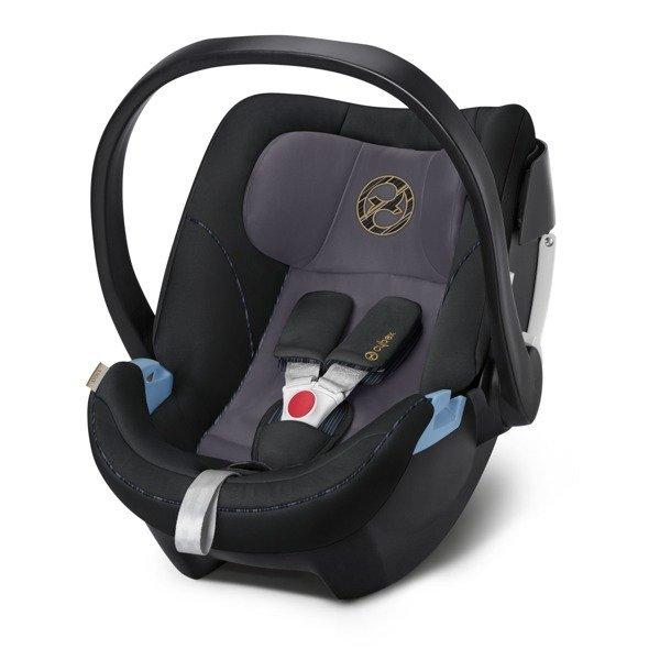 Cybex Aton 5 Black Bērnu autosēdeklis 0-13 kg