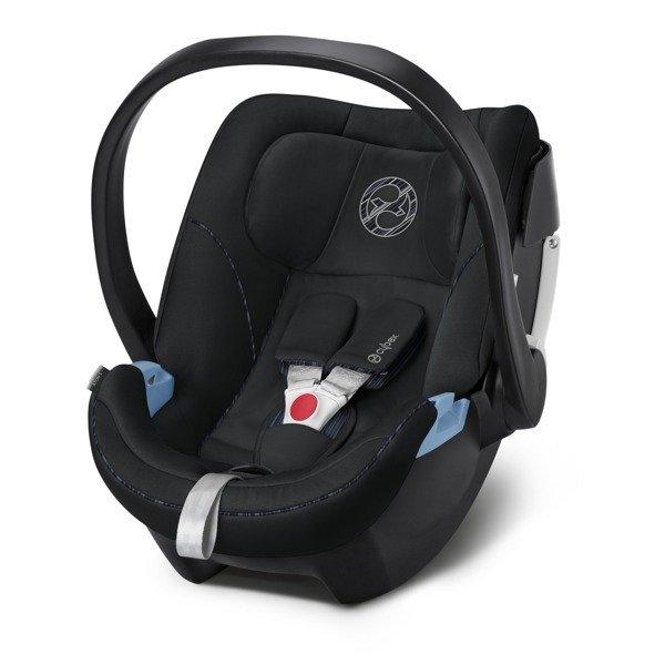 Cybex Aton 5 Deep Black Bērnu autosēdeklis 0-13 kg