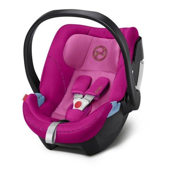 Cybex Aton 5 Pink Bērnu autosēdeklis 0-13 kg