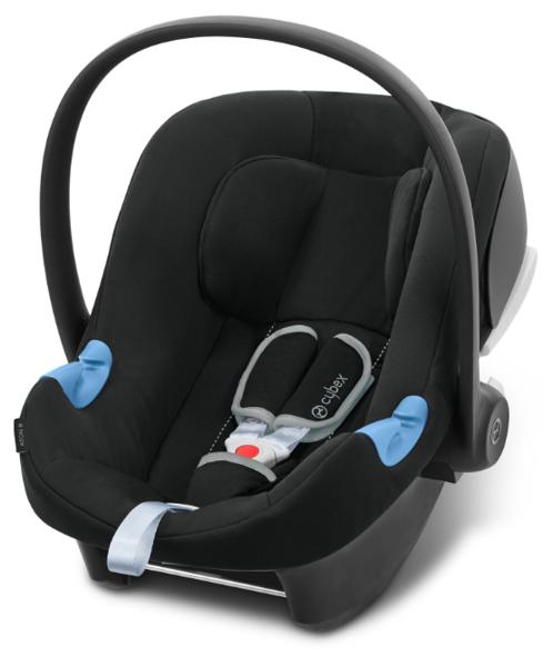 Cybex Aton B I-Size Volcano Black Bērnu autosēdeklis 0-13 kg