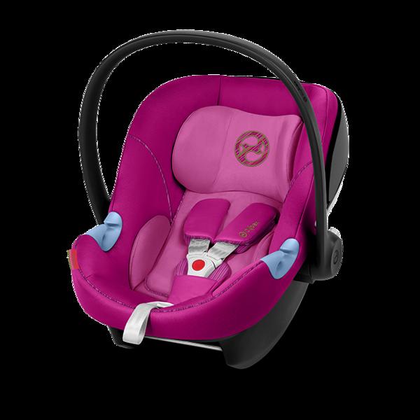 Cybex Aton M Fancy Pink Bērnu autosēdeklis 0-13 kg