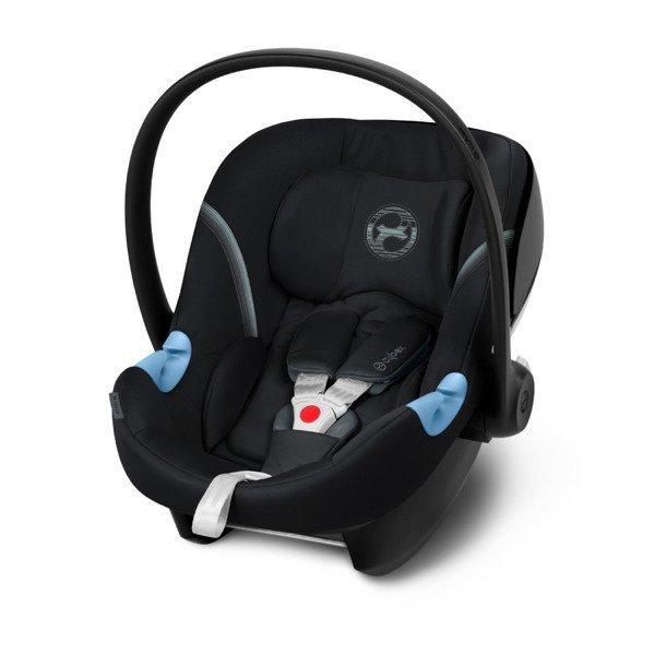 Cybex Aton M i-Size Deep Black Bērnu autosēdeklis 0-13 kg