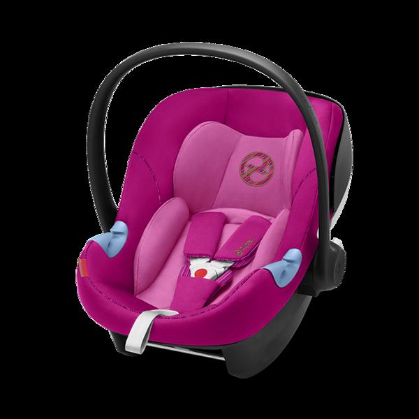 Cybex Aton M i-Size Fancy Pink Bērnu autosēdeklis 0-13 kg