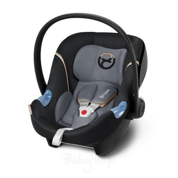 Cybex Aton M i-Size Graphite Black Bērnu autosēdeklis 0-13 kg