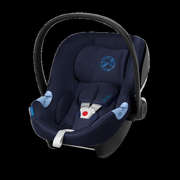 Cybex Aton M i-Size Indigo Blue Bērnu autosēdeklis 0-13 kg