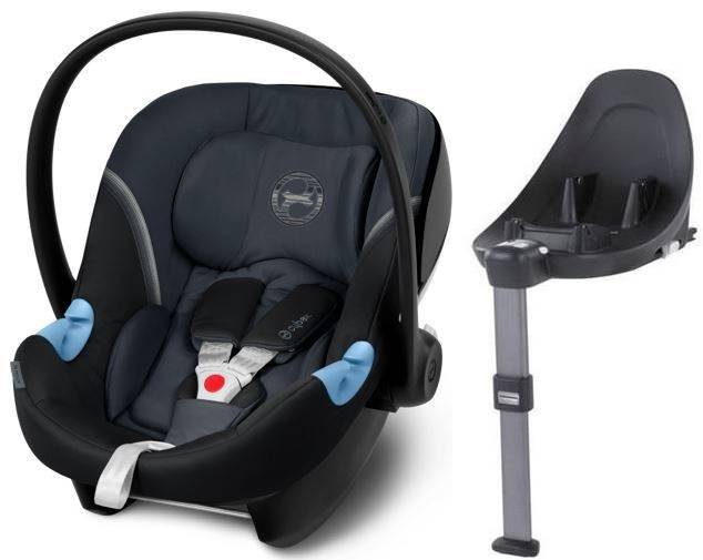 Cybex Aton M i-Size + ISOFIX Base M Granite Black Bērnu autosēdeklis 0-13 kg