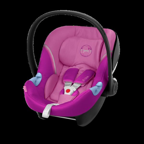 Cybex Aton M i-Size Magnolia Pink Bērnu autosēdeklis 0-13 kg