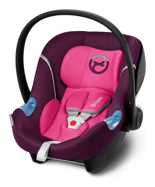 Cybex Aton M i-Size Mystic Pink Bērnu autosēdeklis 0-13 kg