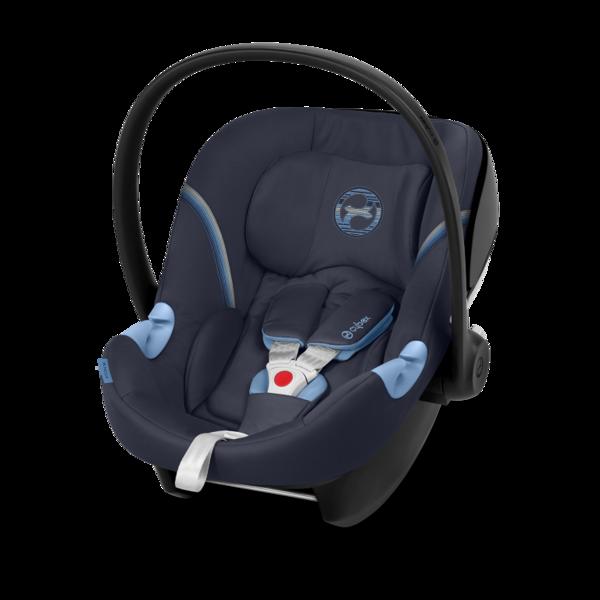 Cybex Aton M i-Size Navy Blue Bērnu autosēdeklis 0-13 kg