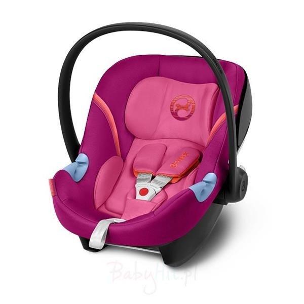 Cybex Aton M i-Size Passion Pink Bērnu autosēdeklis 0-13 kg