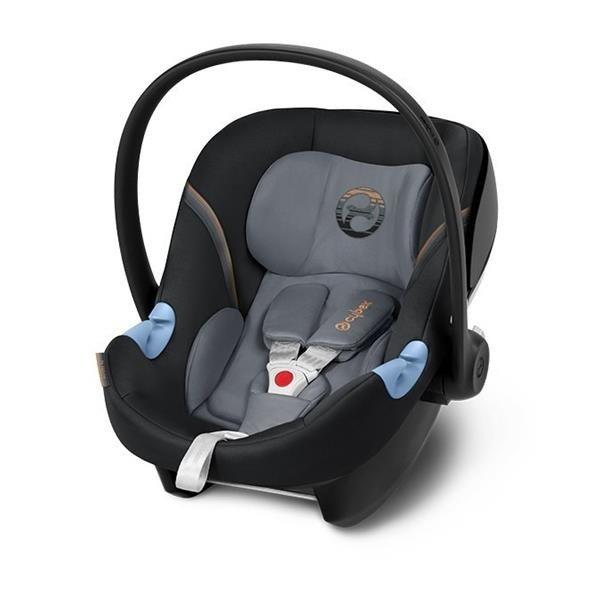 Cybex Aton M i-Size Pepper Black Bērnu autosēdeklis 0-13 kg