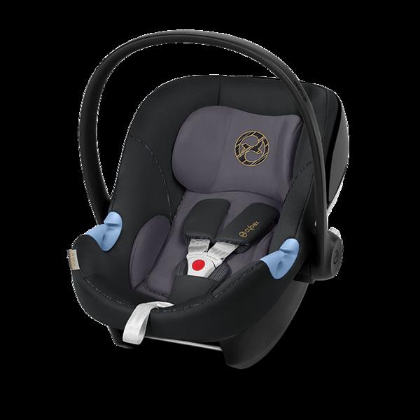 Cybex Aton M i-Size Premium Black Bērnu autosēdeklis 0-13 kg