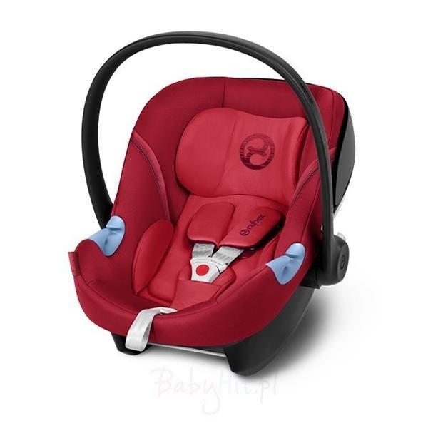 Cybex Aton M i-Size Rebel Red Bērnu autosēdeklis 0-13 kg