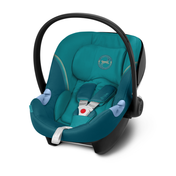 Cybex Aton M i-Size River Blue Bērnu autosēdeklis 0-13 kg