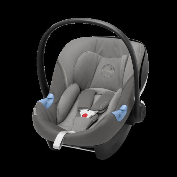 Cybex Aton M i-Size Soho Grey Bērnu autosēdeklis 0-13 kg