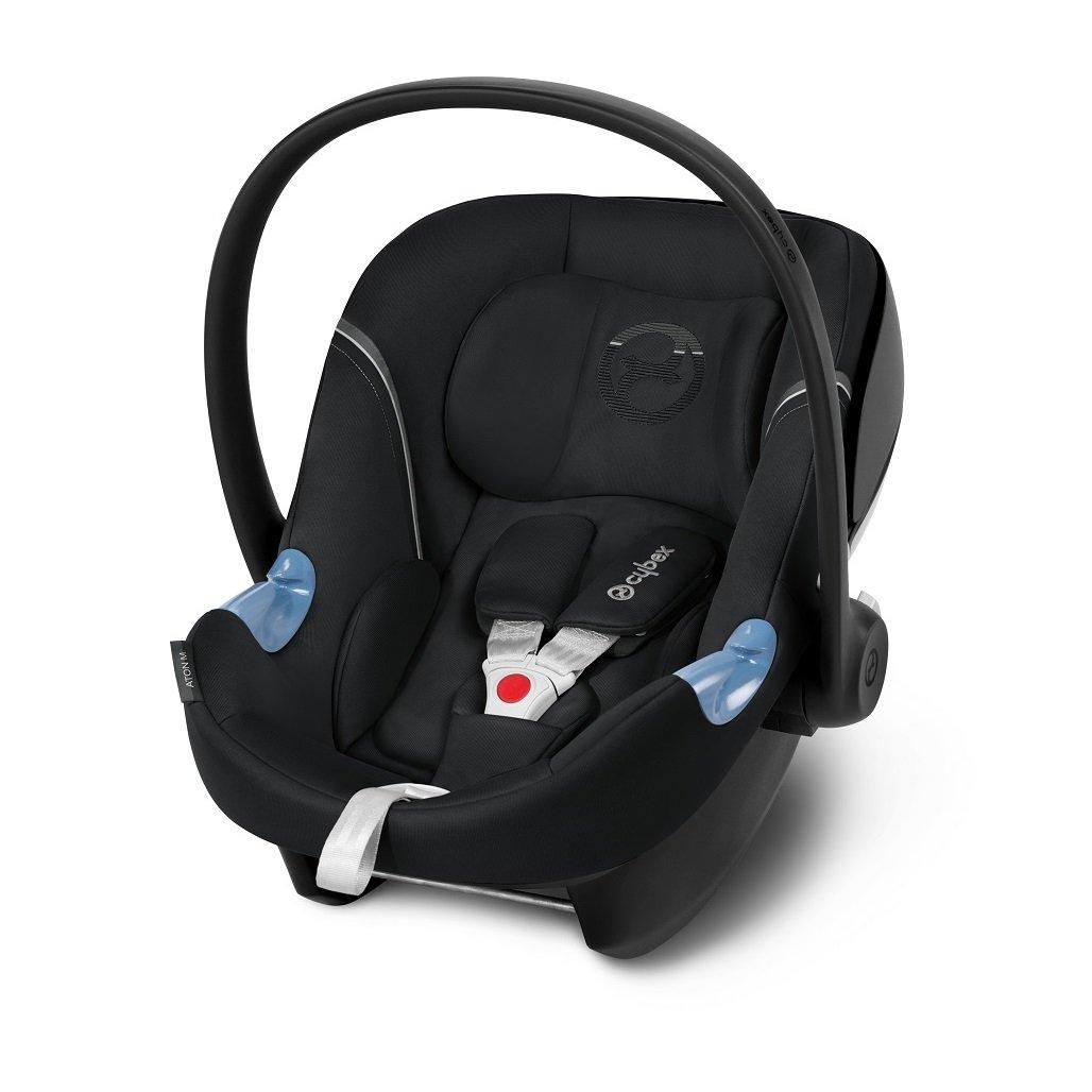 Cybex Aton M i-Size Stardust Black Bērnu autosēdeklis 0-13 kg
