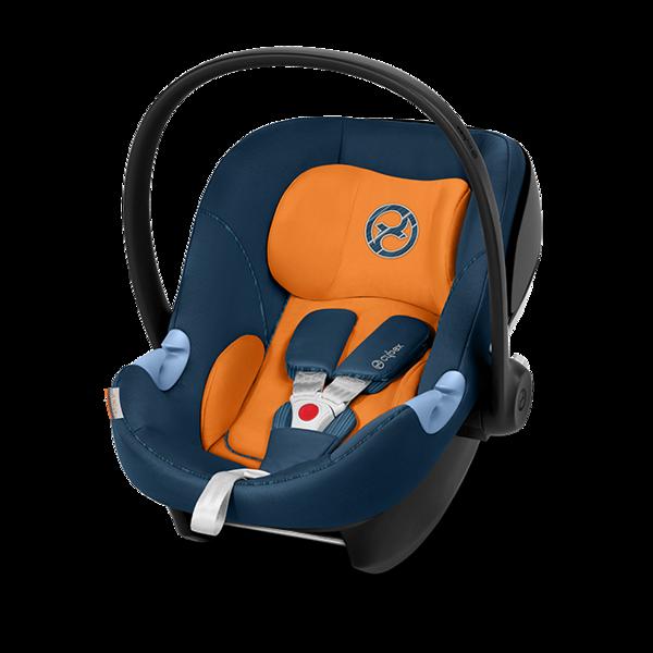 Cybex Aton M i-Size Tropical Blue Bērnu autosēdeklis 0-13 kg
