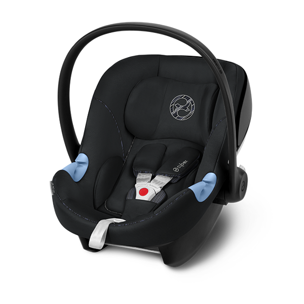 Cybex Aton M i-Size Urban Black Bērnu autosēdeklis 0-13 kg
