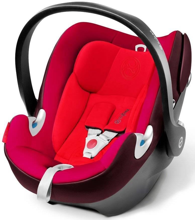 Cybex Aton Q Mars Red Bērnu autosēdeklis 0-13 kg