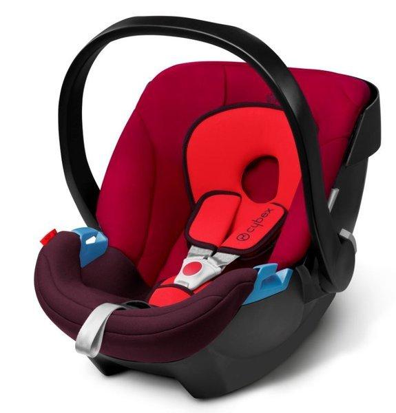 Cybex Aton Rumba Red Bērnu autosēdeklis 0-13 kg