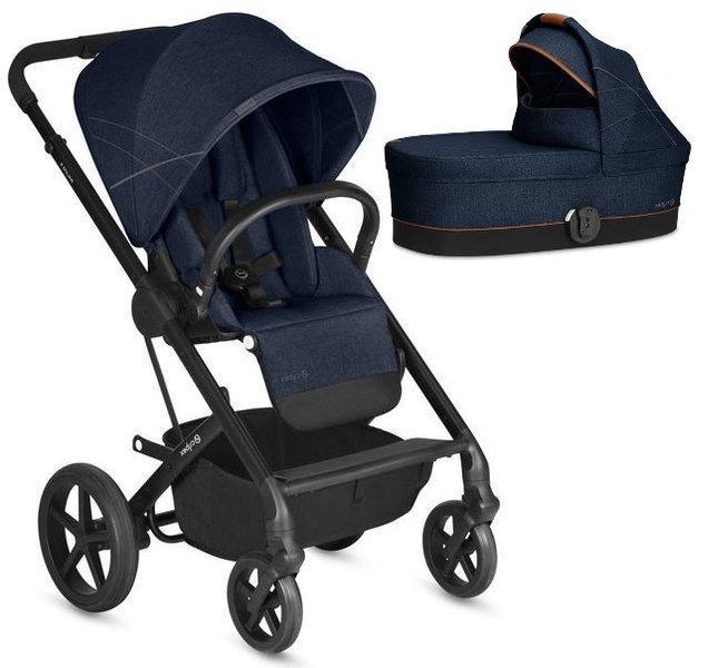 Cybex Balios S Denim Blue Bērnu rati 2in1