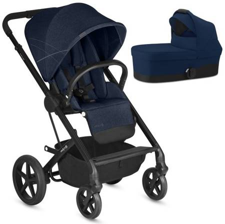 Cybex Balios S Denim & Navy Blue Bērnu rati 2in1