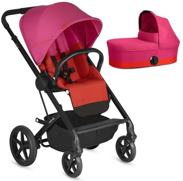 Cybex Balios S Fancy Pink Bērnu rati 2in1