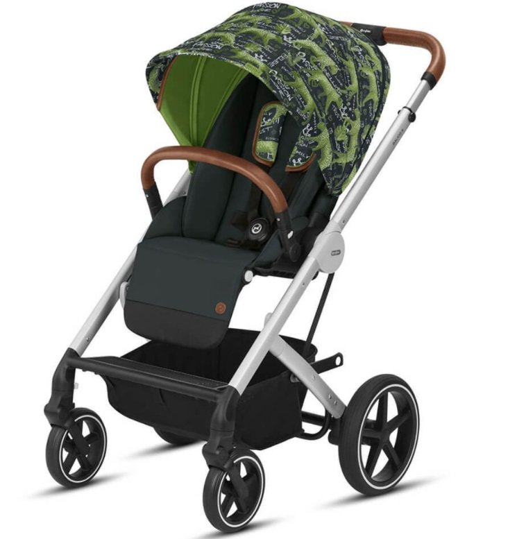 Cybex Balios S Fashion Respect Green Sporta rati