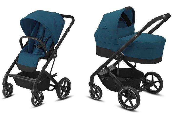 Cybex Balios S Lux River Blue Bērnu rati 2in1