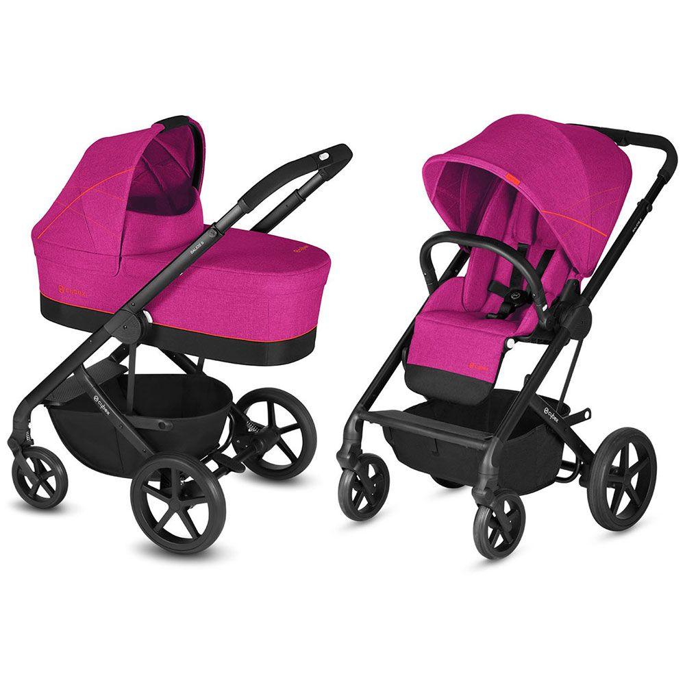 Cybex Balios S Passion Pink Bērnu rati 2in1