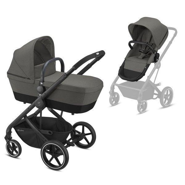 Cybex Balios S Soho Grey Bērnu rati 2in1