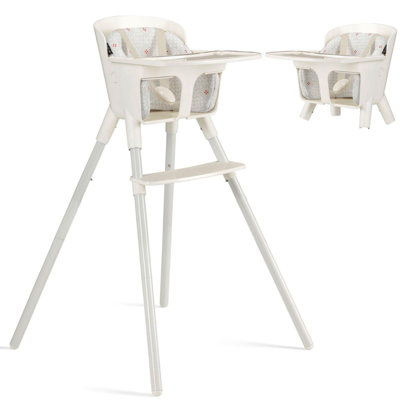 Cybex CBX Luyu XL Snowy white 2in1 Barošanas krēsliņš
