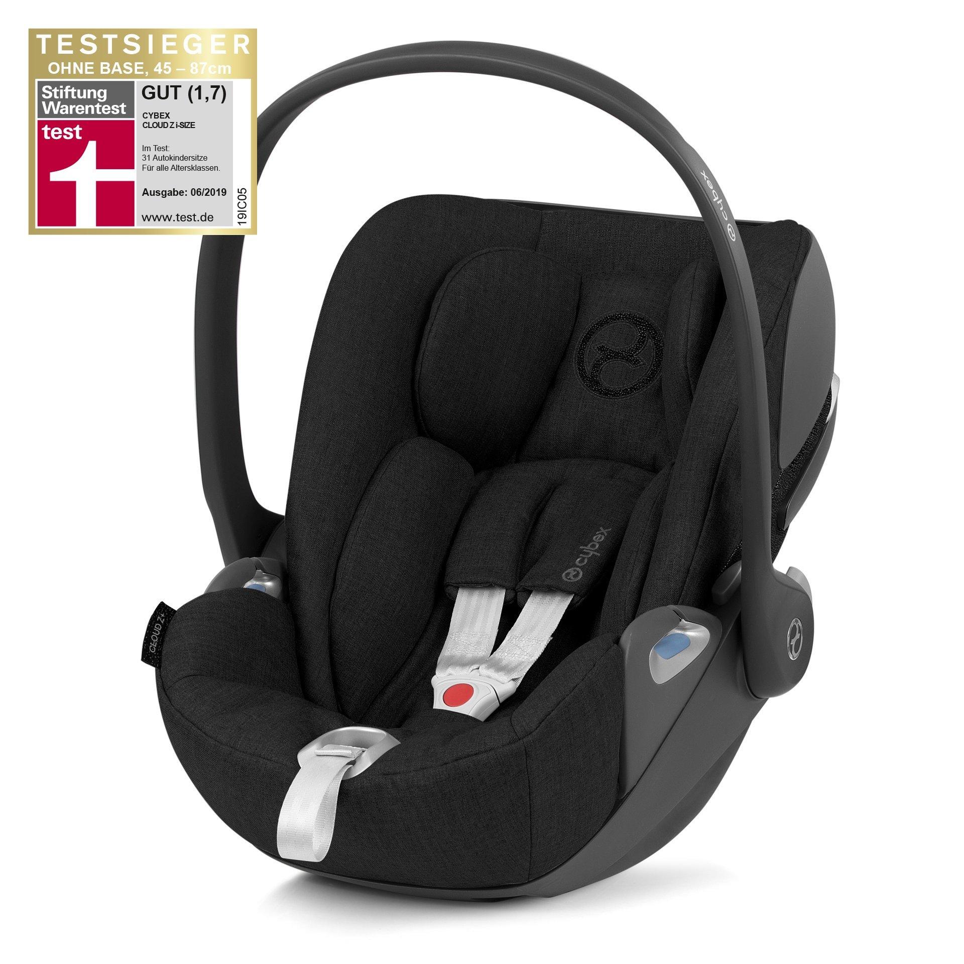 Cybex Cloud Z I-Size Deep Black Bērnu autosēdeklis 0-13 kg