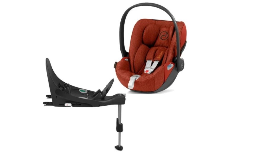 Cybex Cloud Z I-Size + ISOFIX Base Autumn Gold Plus Bērnu autosēdeklis 0-13 kg