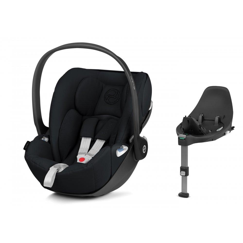 Cybex Cloud Z I-Size + ISOFIX Base Deep Black Bērnu autosēdeklis 0-13 kg