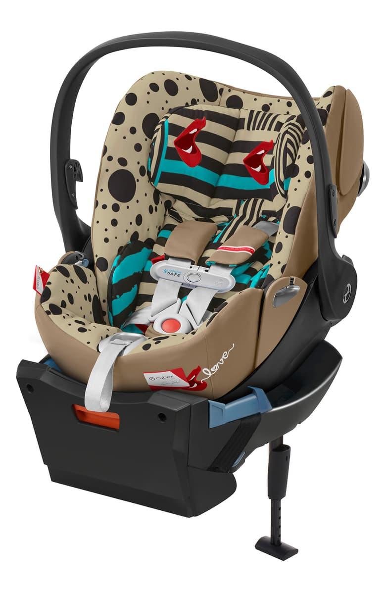 Cybex Cloud Z I-Size + ISOFIX Base Karolina Kurkova One Love multicolor Bērnu autosēdeklis 0-13 kg