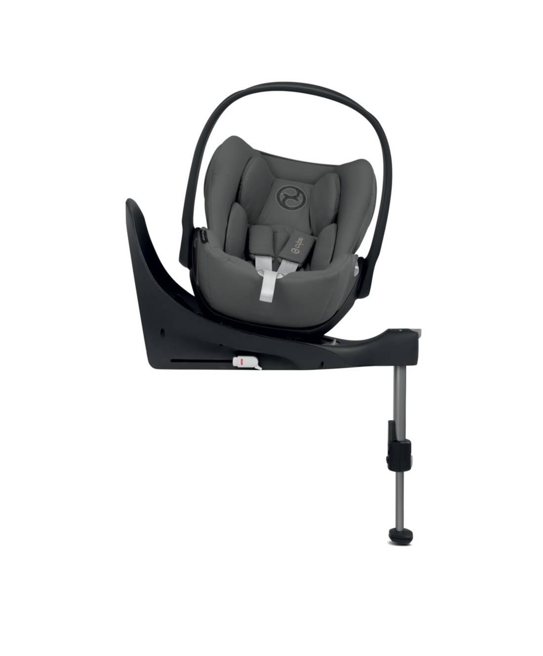 Cybex Cloud Z I-Size + ISOFIX Base Manhattan Grey Bērnu autosēdeklis 0-13 kg