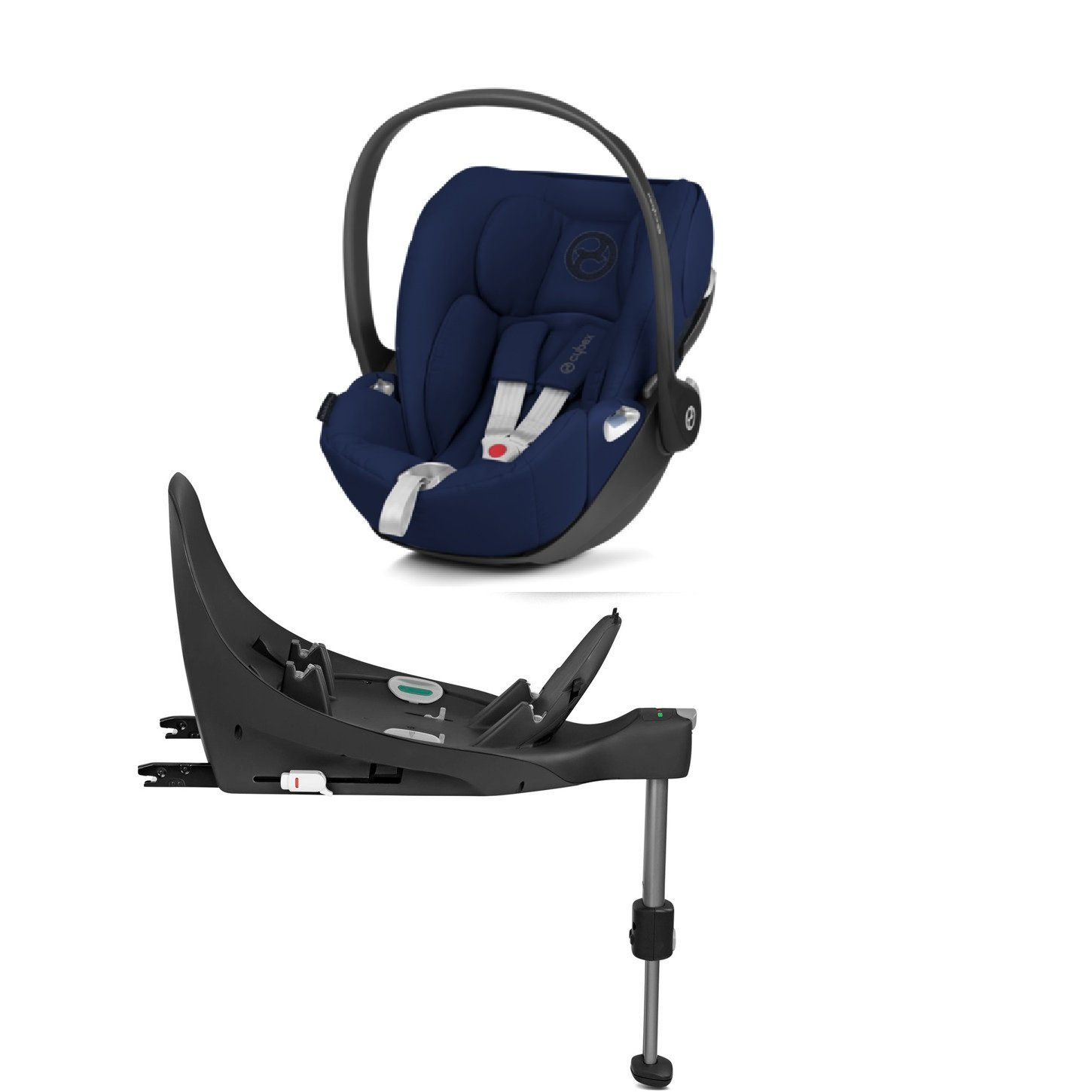 Cybex Cloud Z I-Size + ISOFIX Base Midnight Blue Bērnu autosēdeklis 0-13 kg
