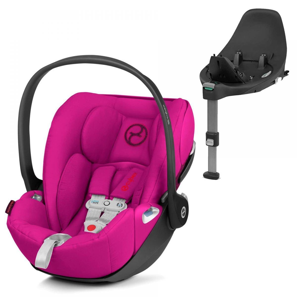 Cybex Cloud Z I-Size + ISOFIX Base Passion Pink Bērnu autosēdeklis 0-13 kg