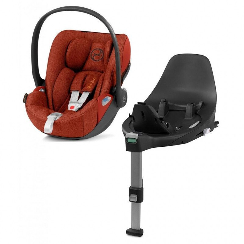 Cybex Cloud Z I-Size + ISOFIX Base Plus Autumn Gold Bērnu autosēdeklis 0-13 kg