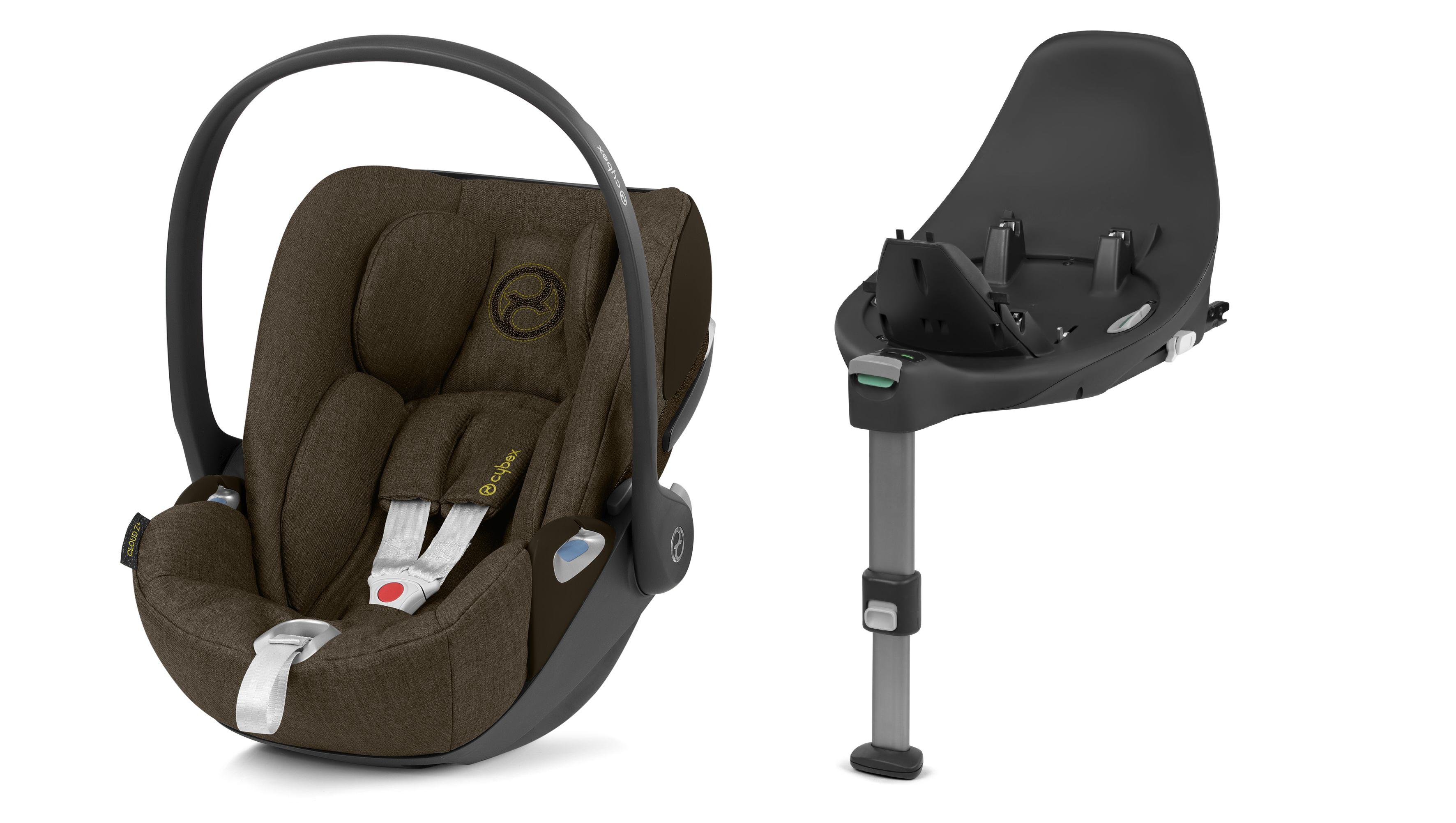 Cybex Cloud Z I-Size + ISOFIX Base Plus Khaki Green Bērnu autosēdeklis 0-13 kg