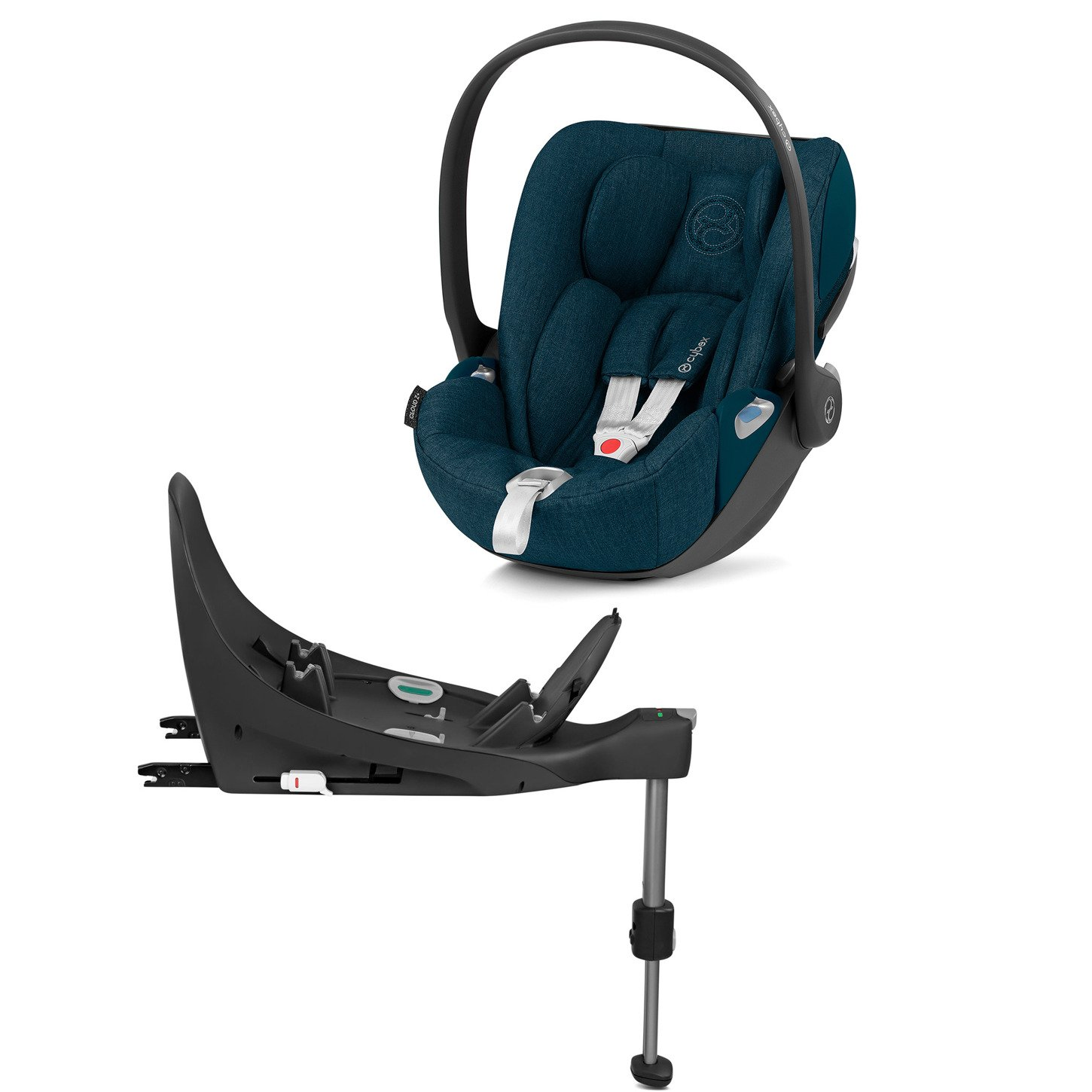 Cybex Cloud Z I-Size + ISOFIX Base Plus Mountain Blue Bērnu autosēdeklis 0-13 kg