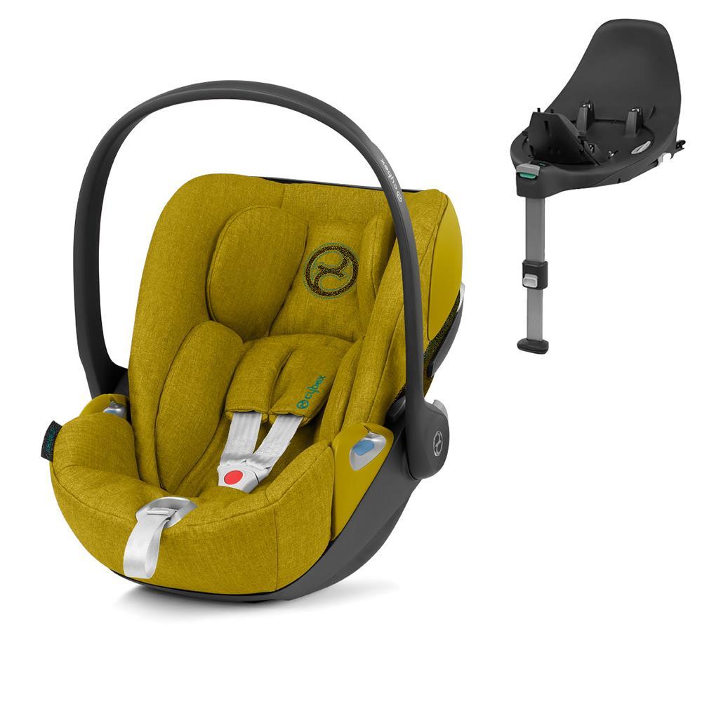 Cybex Cloud Z I-Size + ISOFIX Base Plus Mustard Yellow Bērnu autosēdeklis 0-13 kg