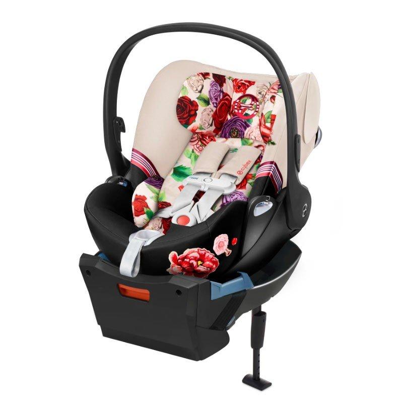 Cybex Cloud Z I-Size + ISOFIX Base Spring Blossom Light Bērnu autosēdeklis 0-13 kg