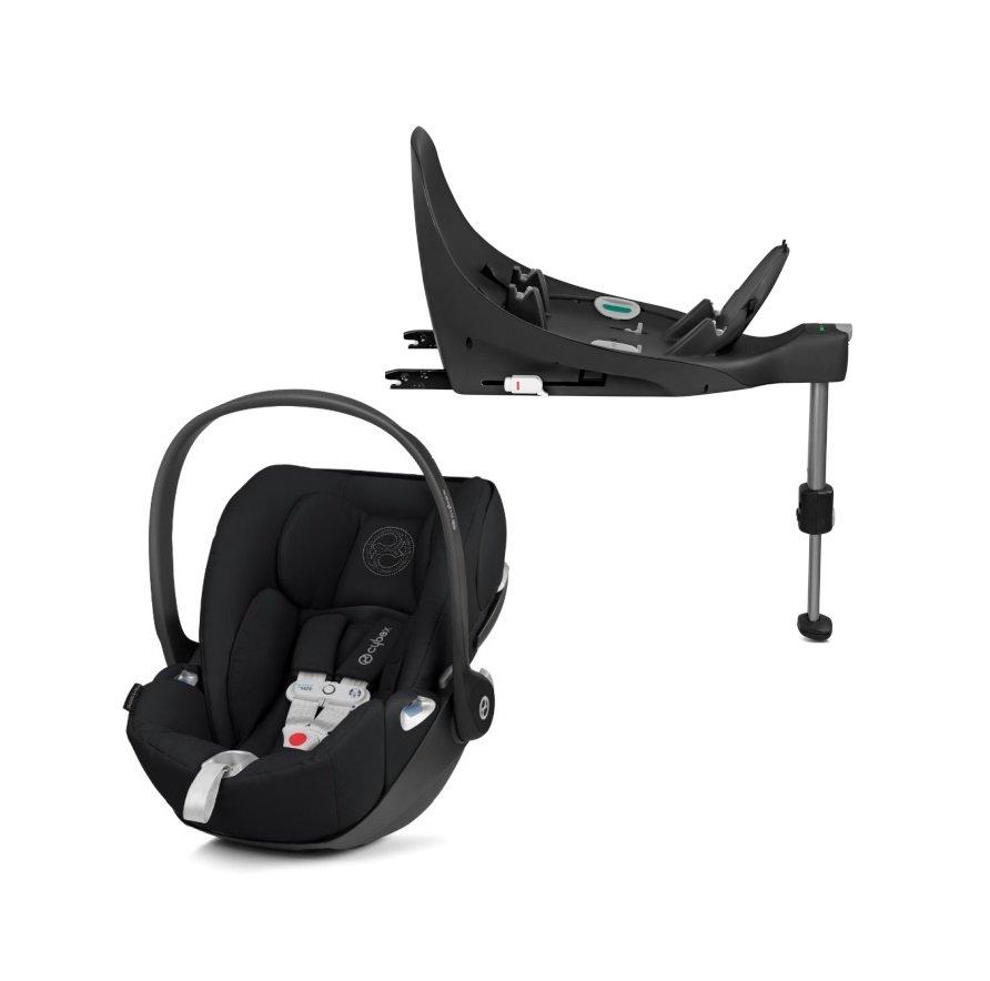 Cybex Cloud Z I-Size + ISOFIX Base Stardust Black Bērnu autosēdeklis 0-13 kg