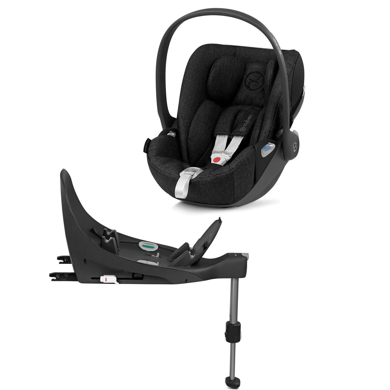 Cybex Cloud Z I-Size + ISOFIX Base Stardust Black Plus Bērnu autosēdeklis 0-13 kg