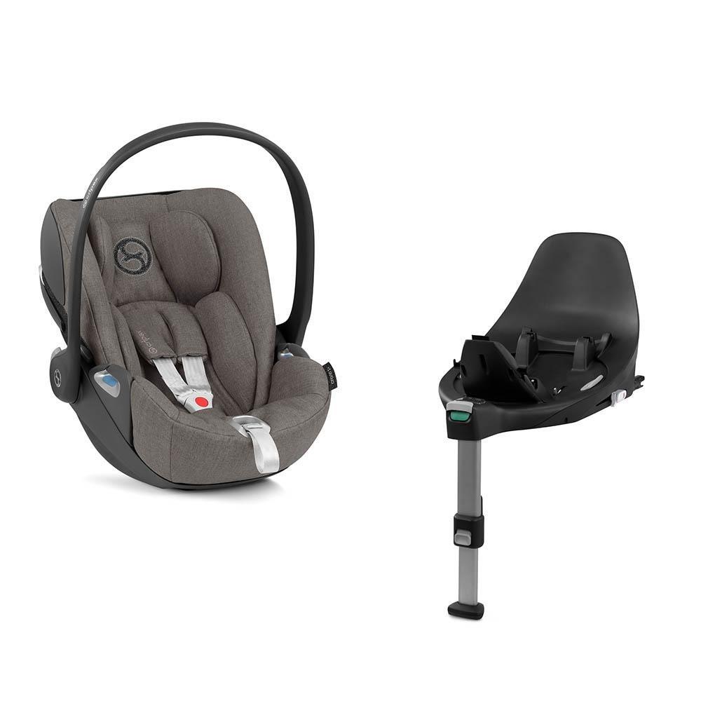 Cybex Cloud Z I-Size + ISOFIX Plus Soho Grey Black Bērnu autosēdeklis 0-13 kg